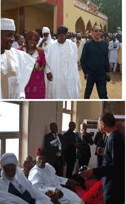 Photo of Obasanjo, Jonathan, Saraki, in attendance as Atiku Abubakar clocks 72,  becomes 7th Waziri of Adamawa