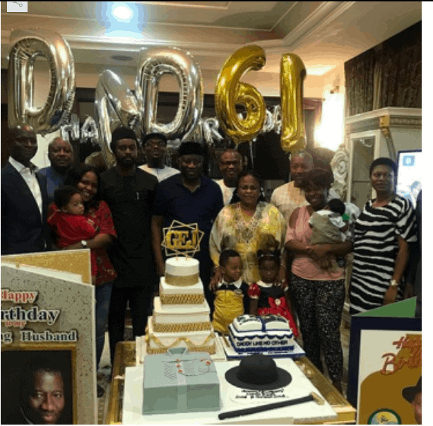 Photo of Photos from Goodluck Jonathan's 61st birthday party