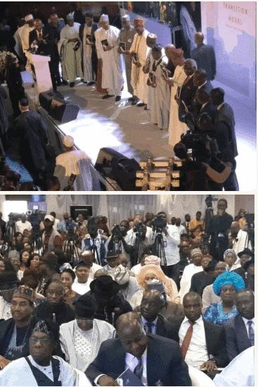 Photo of Obasanjo, Atiku, Gowon, Saraki, Dogara, Abdulsalami storm Jonathan's book launch