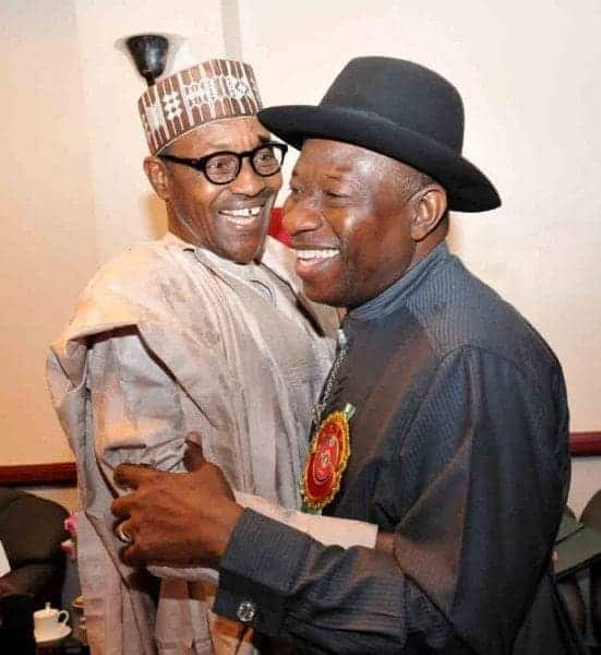 Photo of You will rise again – Buhari tells Jonathan