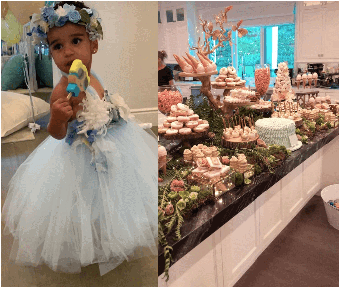 Photo of Dream Kardashian's magical fairytail-themed second birthday bash