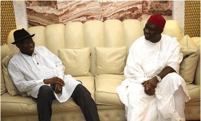 Photo of Goodluck Jonathan visits Ekweremadu over assassination attempt on his life