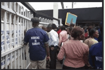 Photo of Doctors, staff flee as man with Lassa Fever storms General Hospital In Delta.