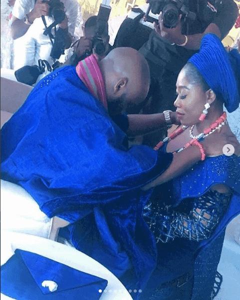 Photo of First photos from OAP Gbemi Olateru-Olagbegi's wedding to Femi Ajayi, Falz's manager