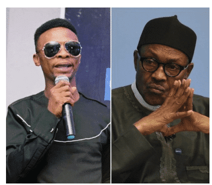 Photo of Comedian I Go Dye tackles President Buhari, questions his fight against corruption