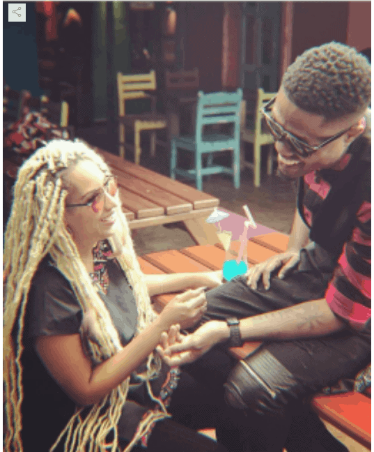 Photo of Juliet Ibrahim and Vector spark dating rumours