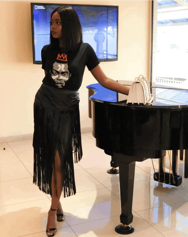 Photo of Kiki Osinbajo pays tribute to music legend, Fela