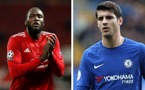 Morata shines as Lukakau becomes laughing stock in the EPL