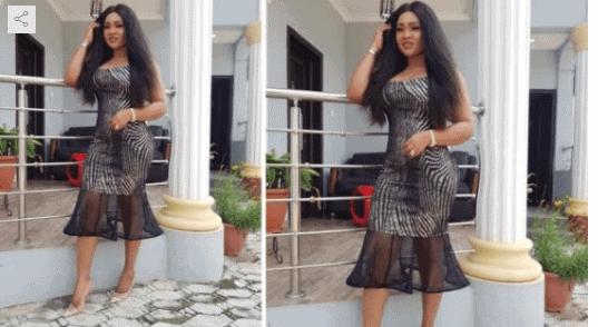 Photo of Mercy Aigbe nabbed in Photoshop scandal again