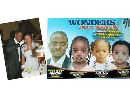 Photo of Lady who killed her husband and kids, omitted from obituary