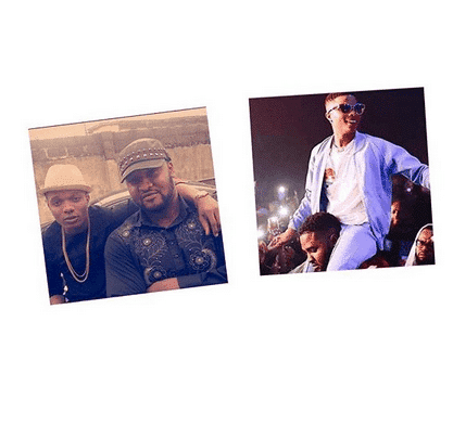 Photo of Wizkid's bodyguard narrowly escapes death for defending him