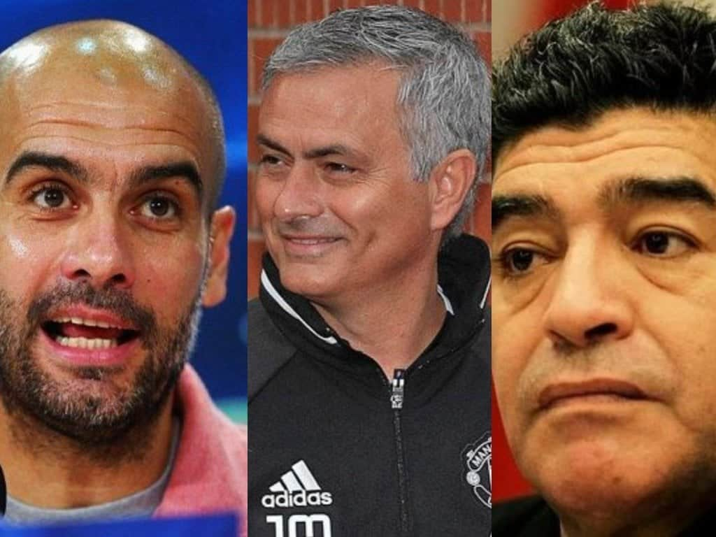 Photo of Maradona slams Guardiola, says Mourinho is the best manager in the world