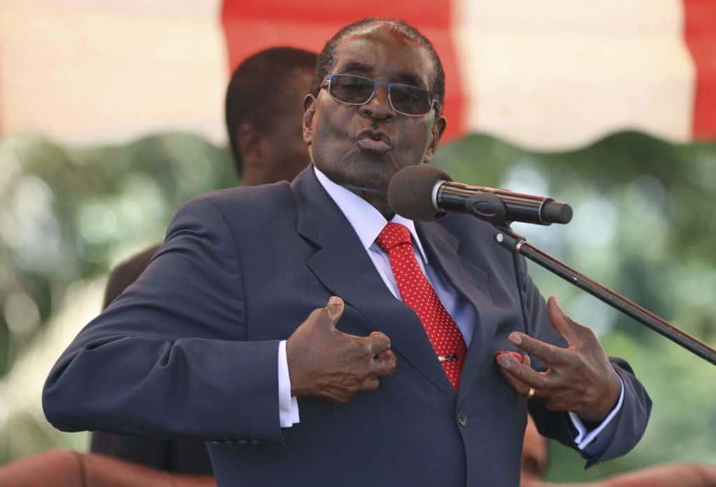 Photo of Former President Mugabe cannot walk again