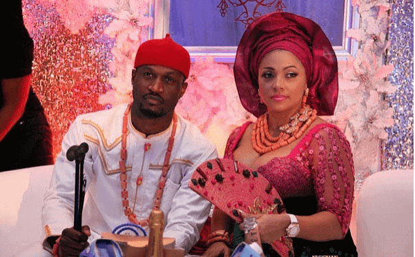 Photo of Peter Okoye goes emotional over his wife