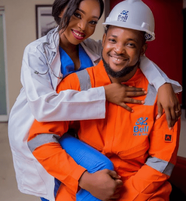 Photo of Lovely pre-wedding photos of this engineer and his doctor fiancee