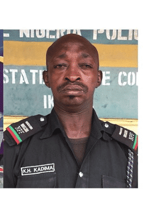 Photo of Viral drunk Lagos policeman gets sacked