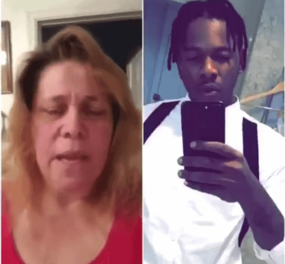 Photo of White woman accused Runtown and his brother of defrauding her of 45Million Naira
