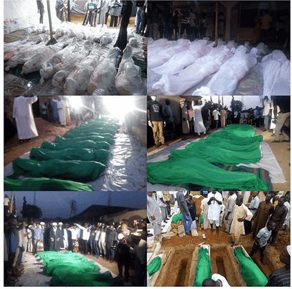 Photo of Amidst tears, Shiites bury 23 members killed by army