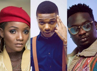 Photo of Wizkid surprises Simi and Wande Coal in London