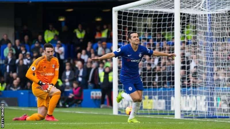 Photo of EPL: Pedro and Loftus Cheek on target as Chelsea beat Fulham