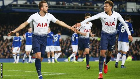 Photo of EPL: Tottenham spank Everton to put pressure on Manchester City