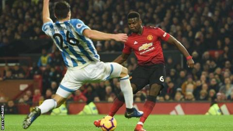 Photo of EPL: Pogba shines as Manchester United beat Huddersfield