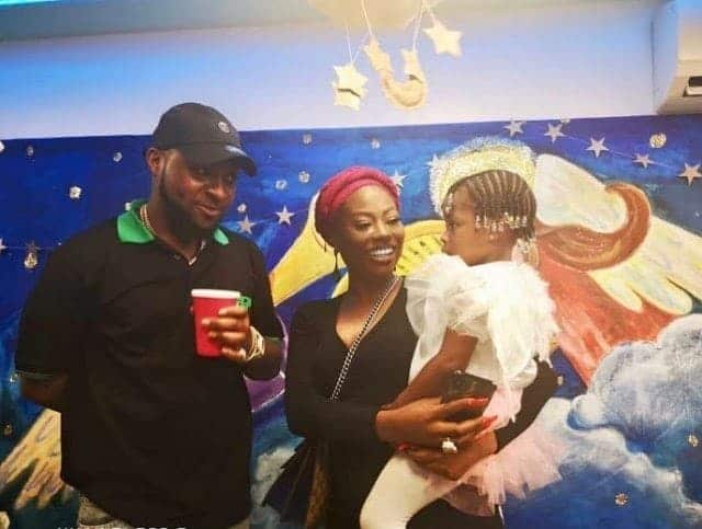 Photo of Davido and Sophia Momodu unite at daughter's school end of year party in Lagos (Photos)