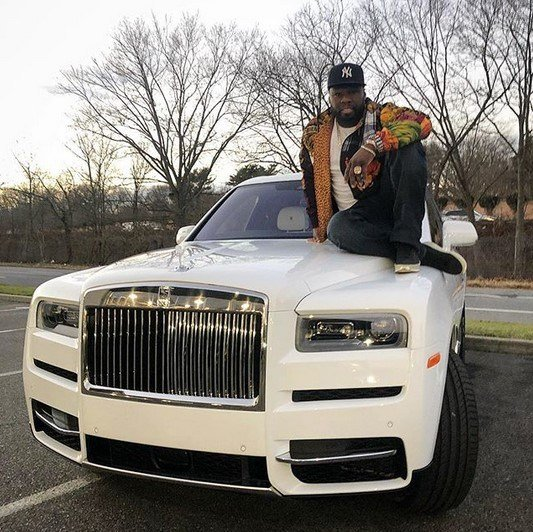 Photo of 50 Cent buys a Rolls Royce as Christmas gift for himself (Photos)