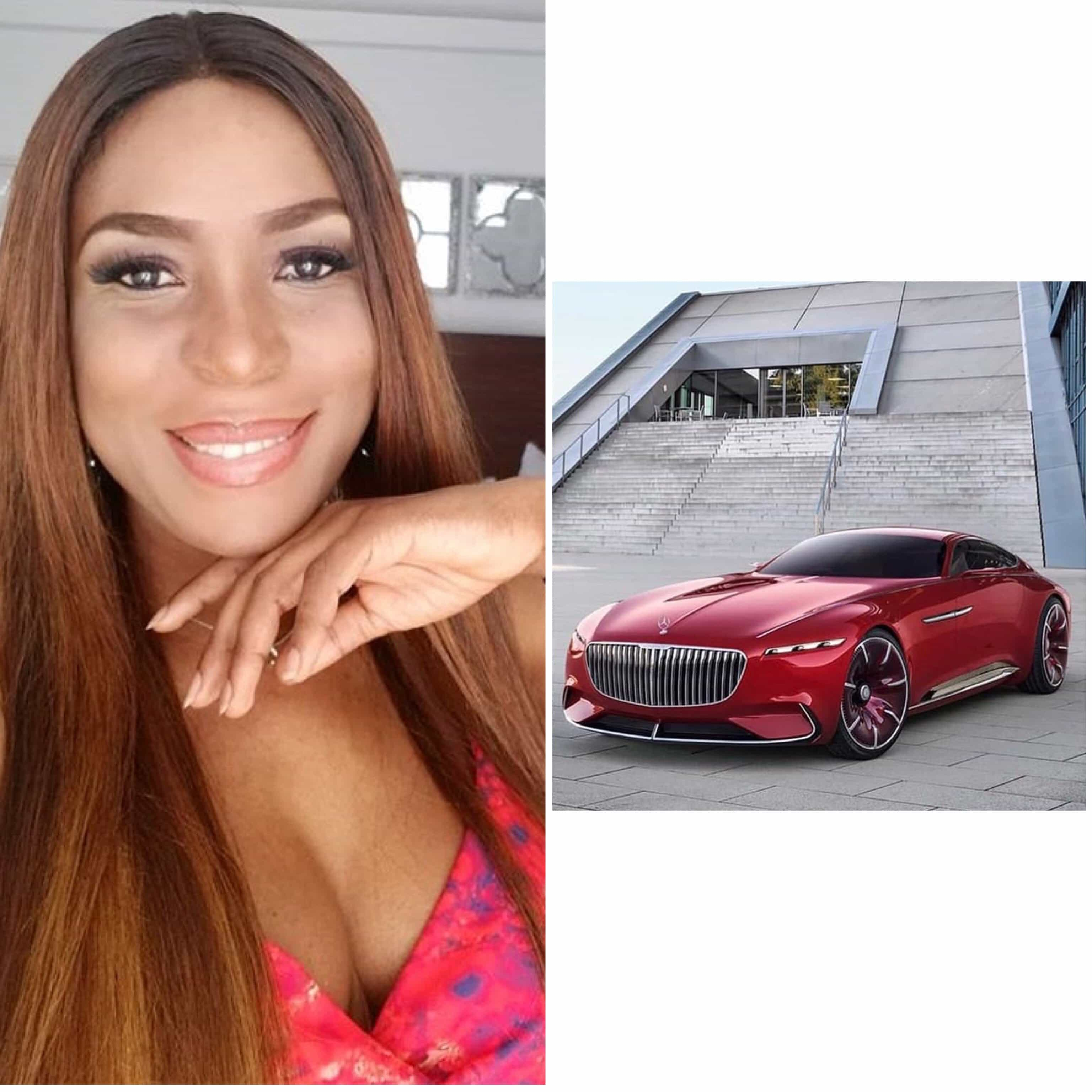 Photo of Linda Ikeji's next ride is a N100million Mercedes Maybach 6 Cabriolet