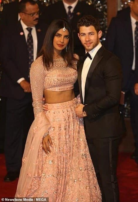 Photo of How Priyanka Chopra and Nick Jonas turned up for $100m wedding of India's richest hairess