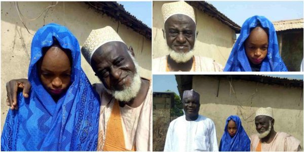 Photo of 15-year-old girl weds 70-year-old man in Niger State (Photos)