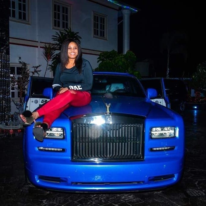 Photo of E-money buys wife Rolls Royce Phantom for Christmas