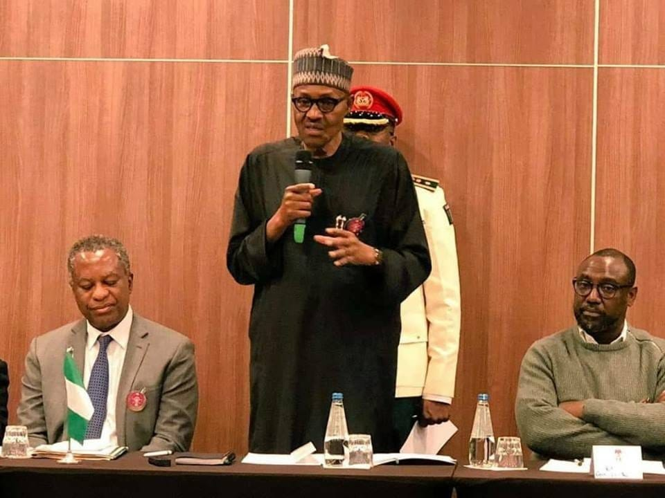 Photo of I am not a chauvinist, I have enough women – Buhari