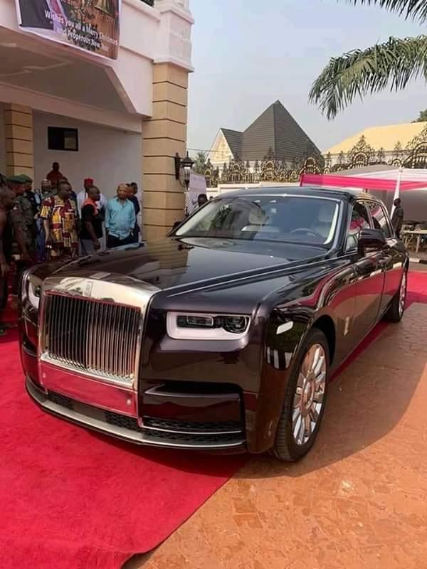 Photo of Nigerian billionaire, Arthur Eze buys 2019 Rolls Royce Phantom (Photos)