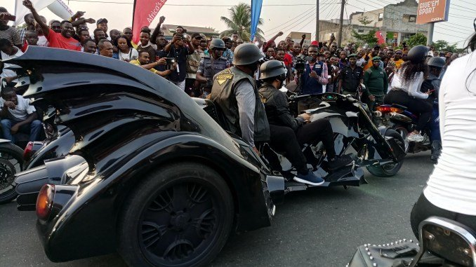 Photo of Pictures from the 2018 Calabar Carnival Bikers parade