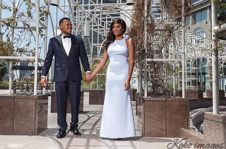 Photo of Actor, Michael Okon holds white wedding in Lagos (PHOTOS)
