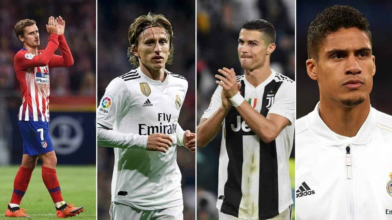 Photo of Ballon d'Or 2018: Checkout where the top 20 players ranked and their points