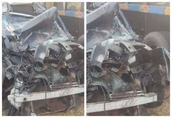 Photo of Couple cheats death as they survive fatal accident a day to their wedding