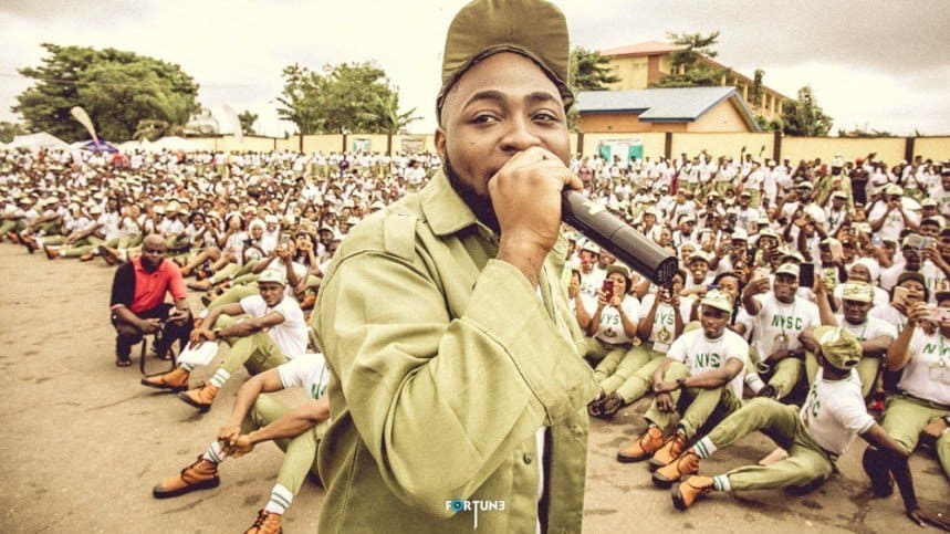 Photo of Checkout seven reasons why NYSC cancelled Davido's one year service