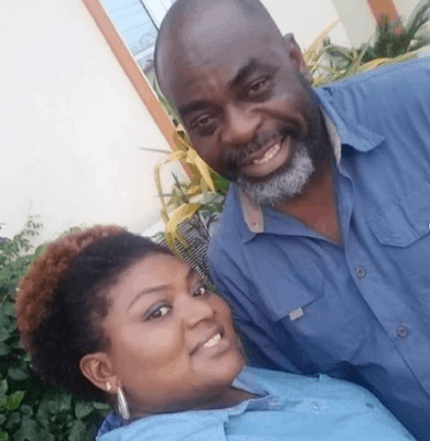 Photo of How Funsho Adeolu celebrated his wedding anniversary with his wife (Photos)