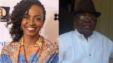 Photo of How Kate Henshaw reacted to the report of the commissioner who impregnated mistress' daughter