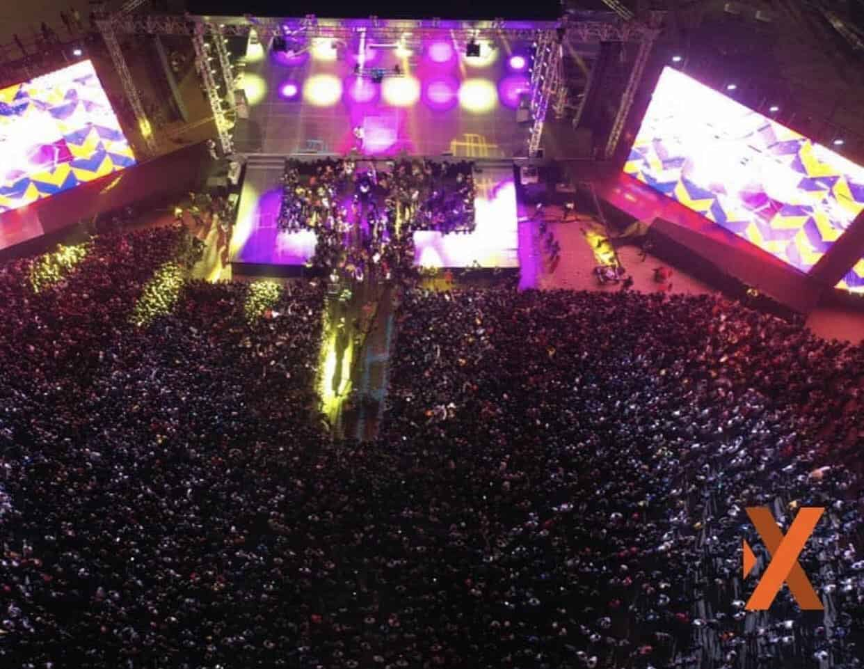 Photo of Wizkid becomes first singer to sell out 20k capacity Eko Atlantic City for his Made In Lagos concert