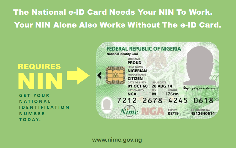 Photo of National ID card 'enrollers' between 2012 and 2013 should go pick it up