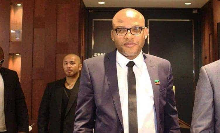 Photo of Nnamdi Kanu reveals the government officials behind Alex Badeh's death