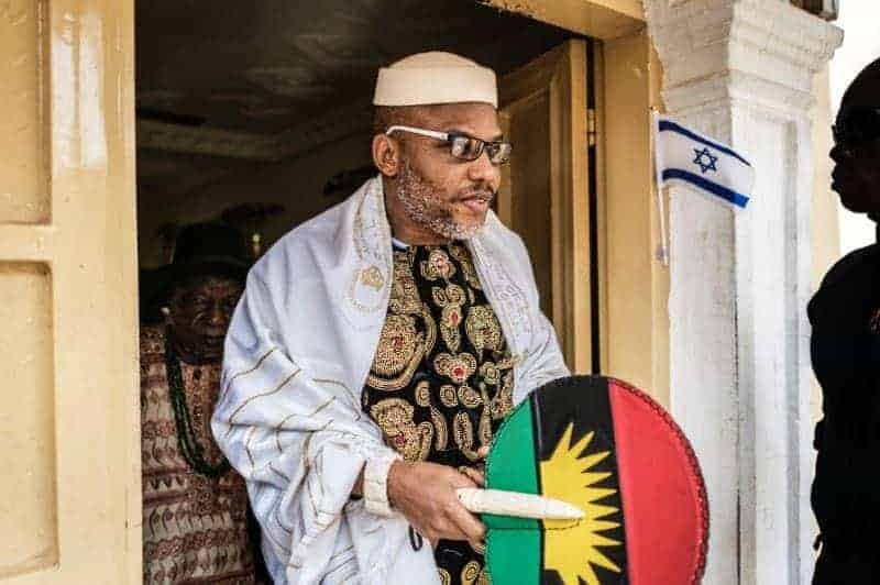 Photo of Nnamdi Kanu loses dad, few months after mum's tragic death