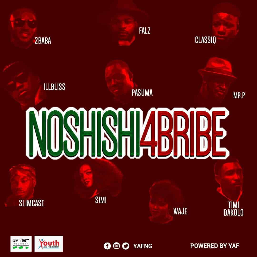 Photo of NoShishi4Bribe: Nigerian music stars join voices to combat vote buying