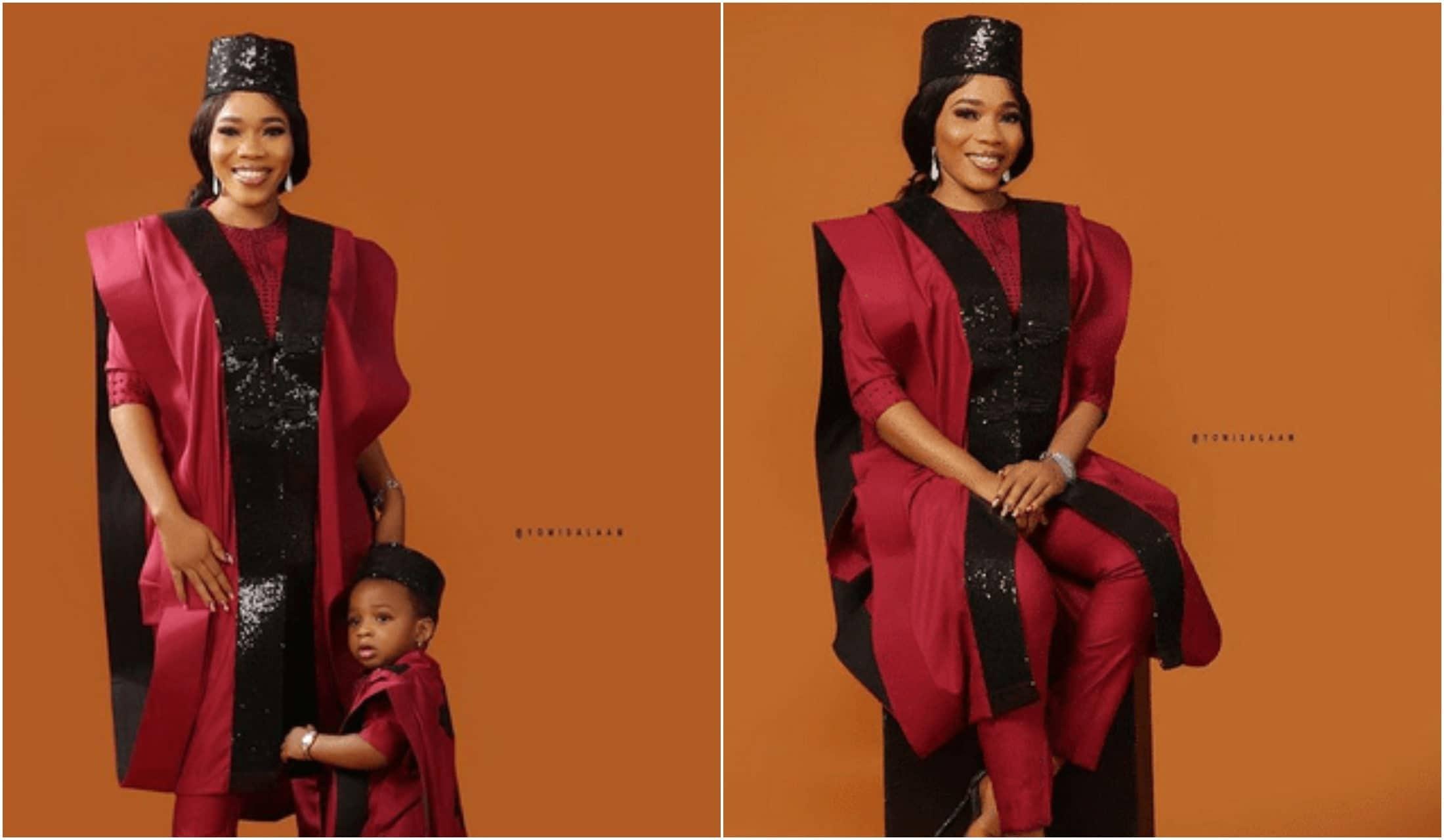 Odunlade Adekola's rumoured babymama, Bukola Adeeyo