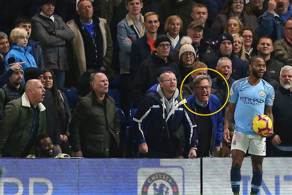 Photo of Chelsea suspends four fans over racial abuse of Raheem Sterling