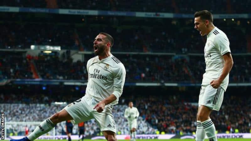 Photo of Laliga: Real Madrid beat Valencia to close in on Sevilla