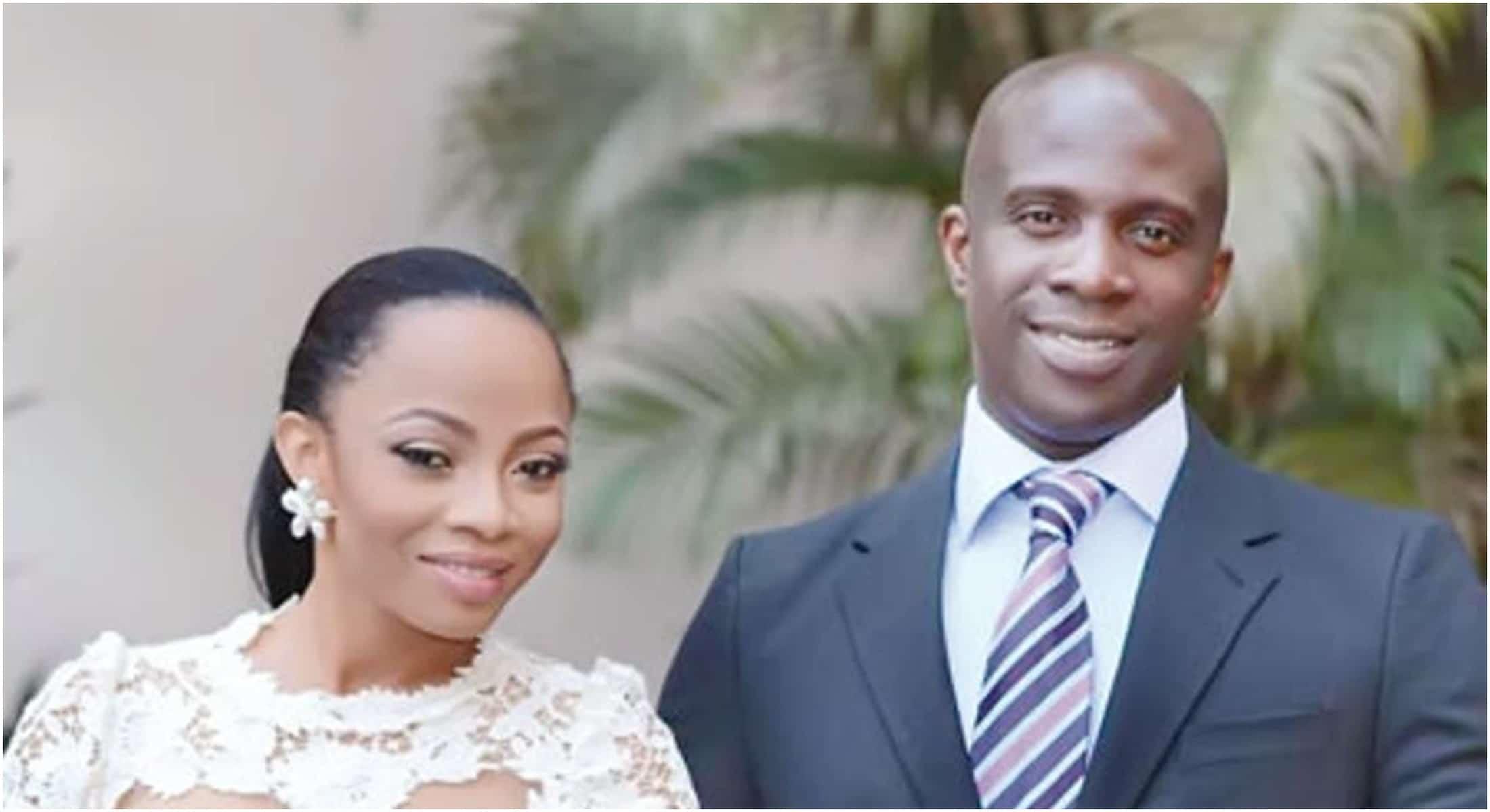 Toke Makinwa's Ex Husband settles down